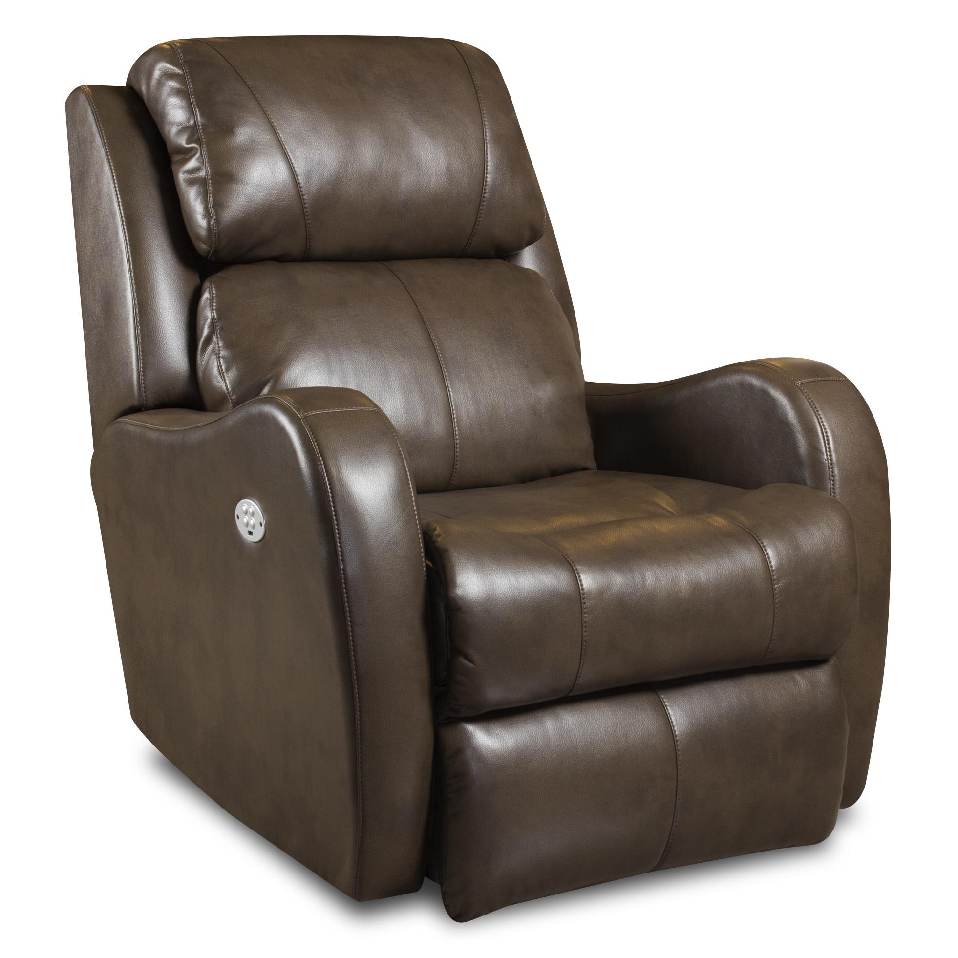 Southern Motion Recliners Siri Lay Flat Recliner With