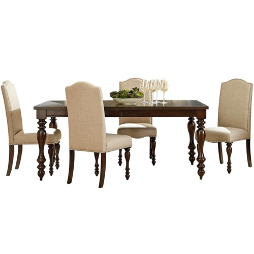 McGregor Dining Table And 4 Side Chair Set