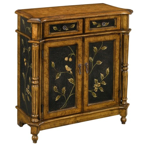 Stein World Chests Accent Chest with Brown/Black Crackel Finish