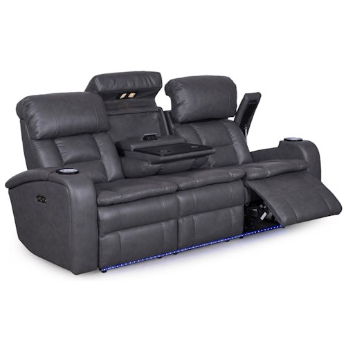 Synergy Home Furnishings 467 Casual Reclining Sofa