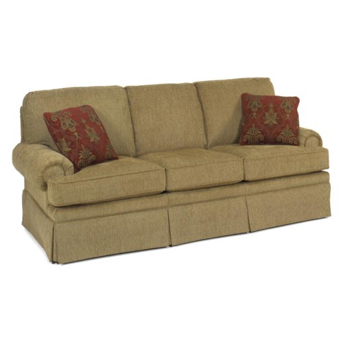 Temple Furniture Winston Sofa With Skirt Mueller