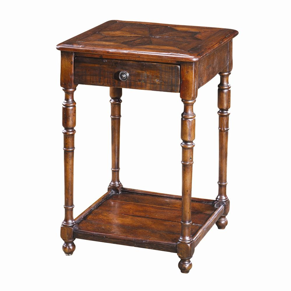 Accent furniture end table theodore alexander tables antique wood end