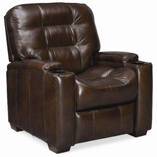 Thomasville® Leather Choices - Latham Leather Select Plus Manual Media Recliner