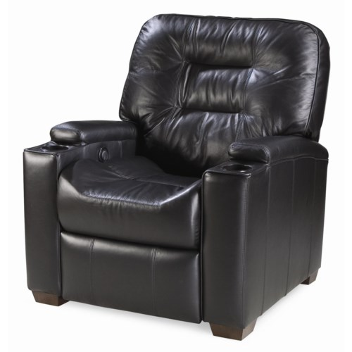 Thomasville® Leather Choices - Latham Leather Select Motorized Media Recliner