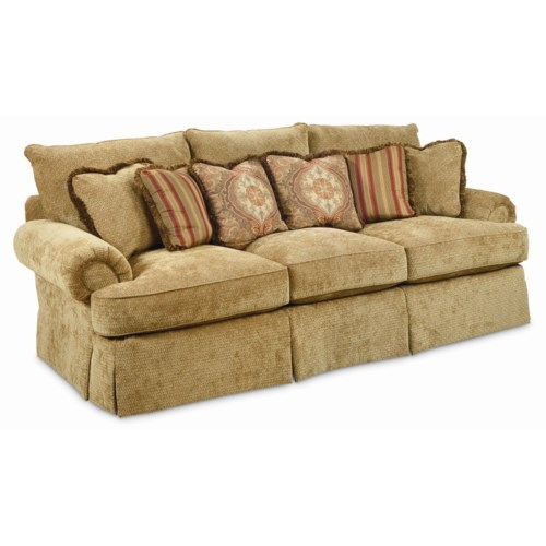 Thomasville® Special Values - Dolce Vita Dolce Vita 3-Seat Sofa with Skirted Base