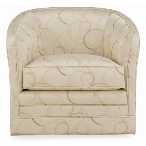 Thomasville® Upholstered Accents Sutton Swivel Glider Upholstered Chair