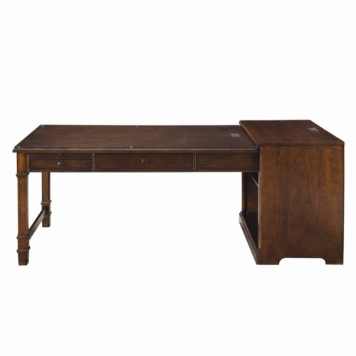 Thomasville® Workstyles - Executive Writing Desk with Glass Top