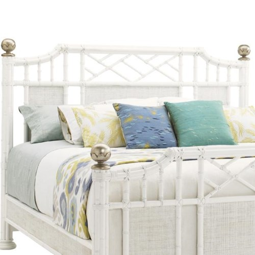 Tommy Bahama Home Ivory Key Queen Pritchards Bay Panel