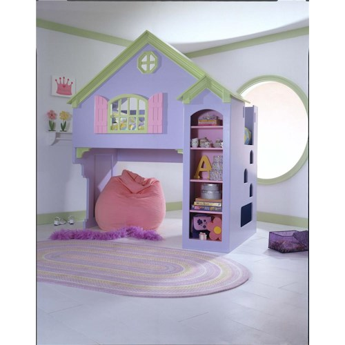 Tradewins Doll House Bed Doll House Loft Bed