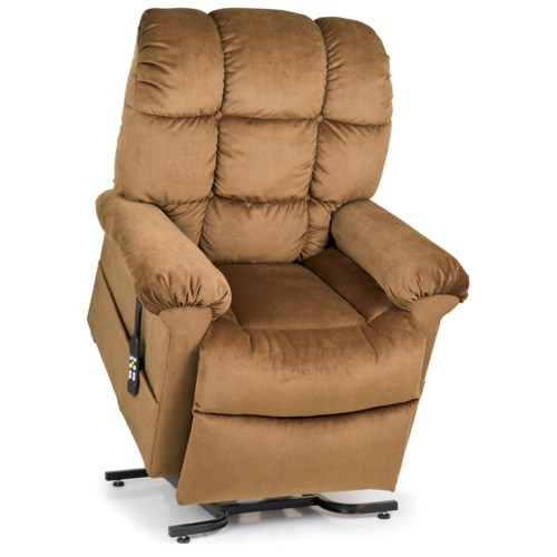UltraComfort StellarComfort Medium Large Lift Recliner with Tufted Back