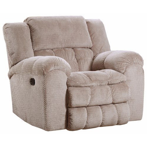 United Furniture Industries 50580BR Casual Power Rocker Recliner
