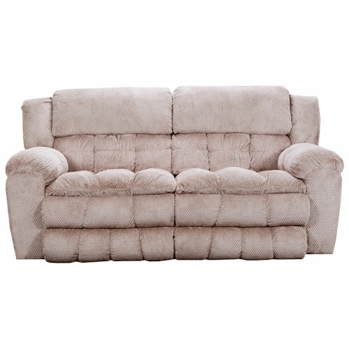 United Furniture Industries 50580BR Casual Power Double Motion Sofa