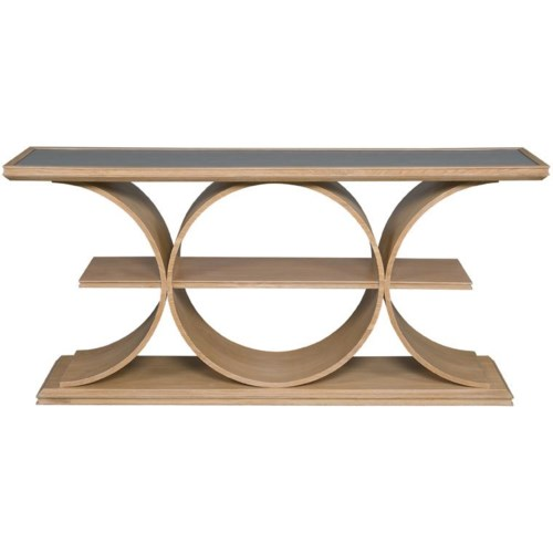 Vanguard Furniture Thom Filicia Home Collection Strathmore Contemporary Console Table