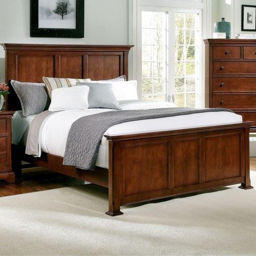 Vaughan Bassett Forsyth King Panel Bed