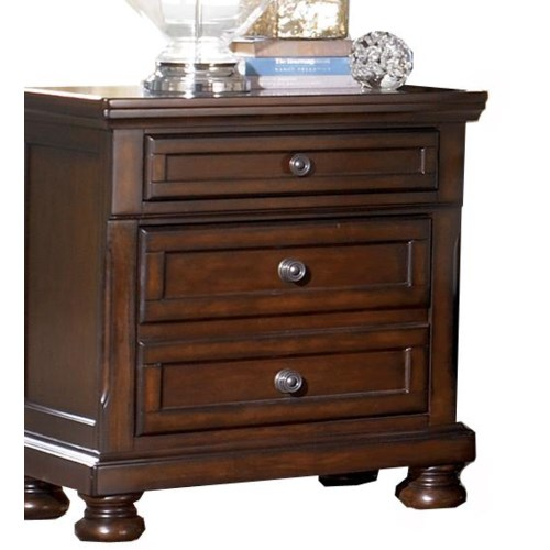 Ashley Furniture Porter Bedroom Collection Porter Nightstand Ivan Smith Furniture Night Stand
