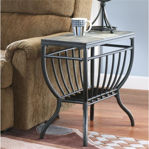 Signature Design By Ashley Antigo Chairside End Table Furniture And Appliancemart End Table