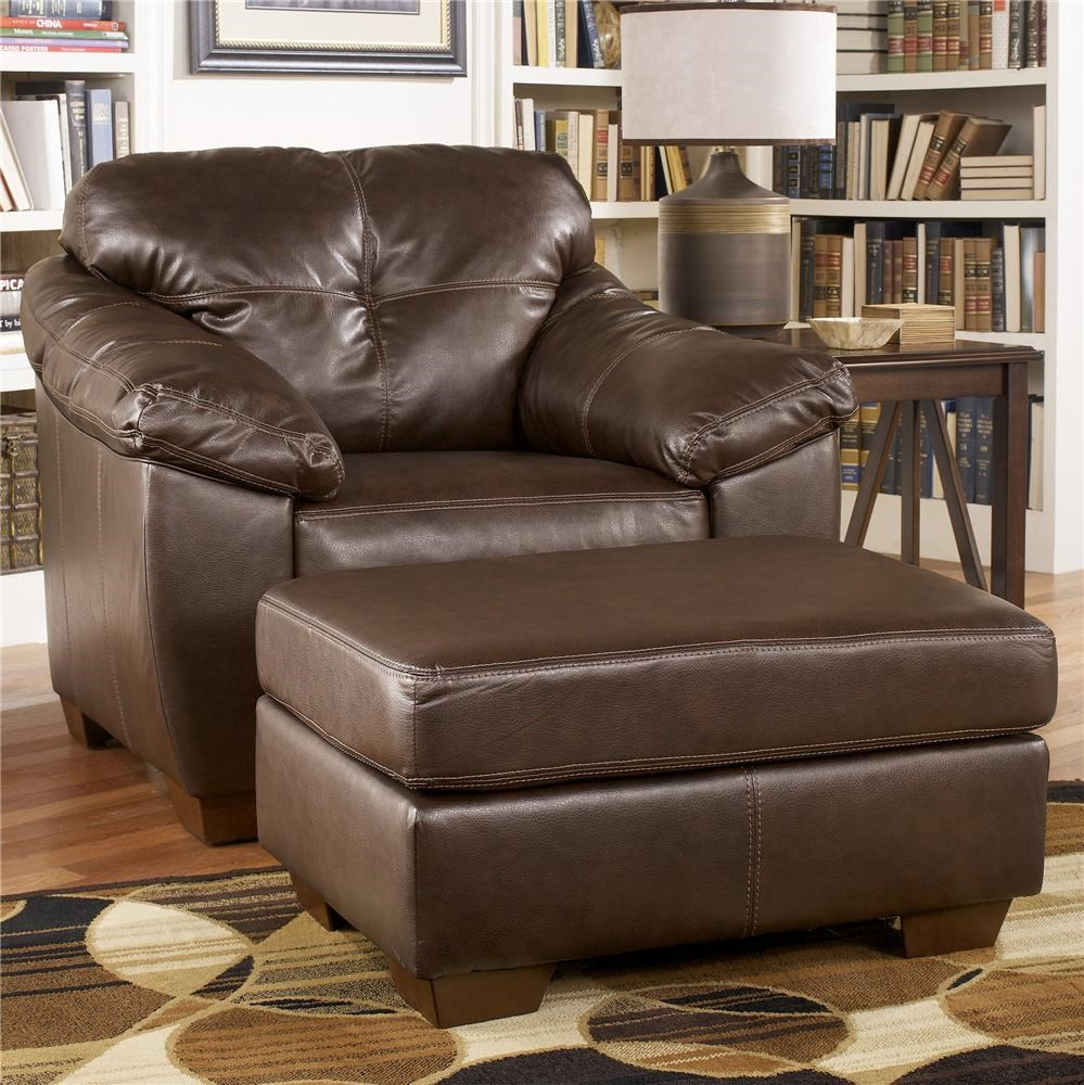 Ashley Furniture San Lucas Harness Faux Leather