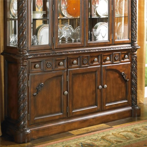 millennium by ashley north shore buffet royal furniture