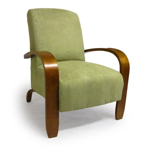 Best Home Furnishings Chairs Accent Maravu Exposed Wood