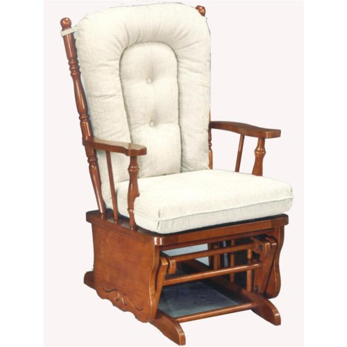 Glider Rockers C8987 Knox Glider Rocker  Baers Furniture  Glider ...
