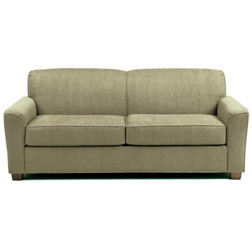 Best home furnishings dinah full sofa sleeper hudson39s for Sectional sleeper sofa florida