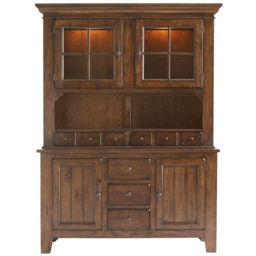 Broyhill Furniture Attic Heirlooms China Cabinet Hudson