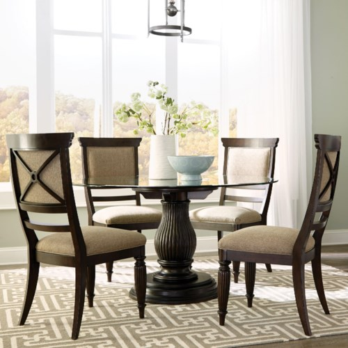 broyhill furniture jessa 5 piece dining set baer 39 s