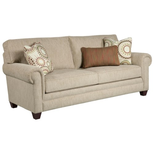 Broyhill furniture monica transitional queen irest sleeper for Affordable furniture west st paul
