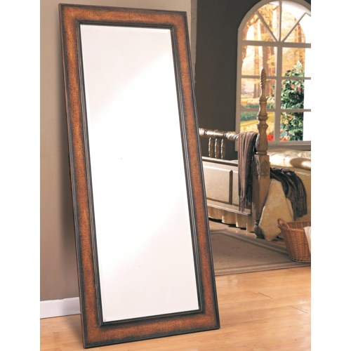 Coaster accent mirrors long floor mirror coaster fine for Long mirrors for bedroom