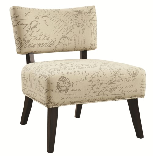 Coaster Accent Seating Over Sized Accent Chair Coaster