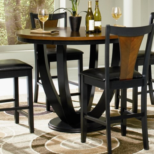 home dining room pub table coaster boyer counter height table