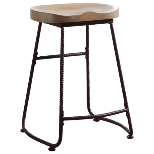 Coaster dining chairs and bar stools rustic counter height stool coaster fine furniture Home bar furniture amazon