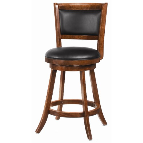 Coaster Dining Chairs And Bar Stools 24 Swivel Bar Stool With Upholster