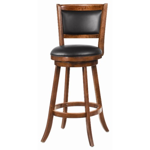 Coaster Dining Chairs And Bar Stools 29 Swivel Bar Stool With Upholster