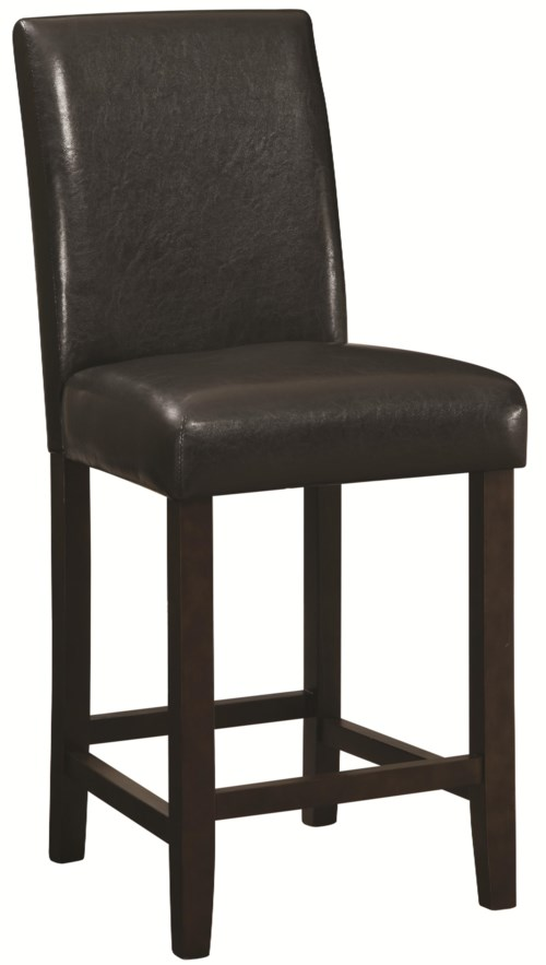 """Coaster Dining Chairs and Bar Stools 24"""" Counter Height"""