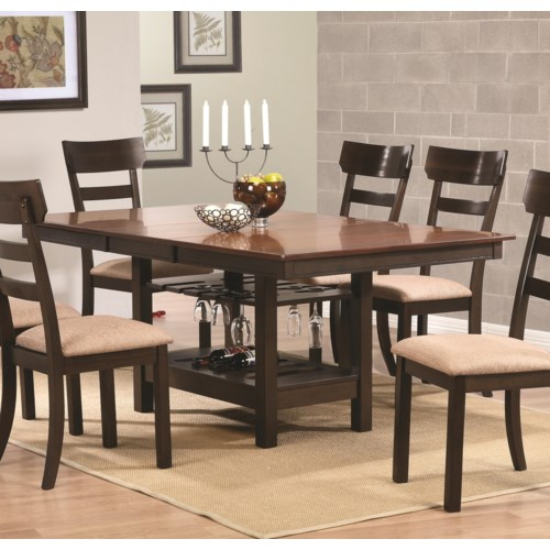 dining room furniture dining room table coaster greenbury dining table