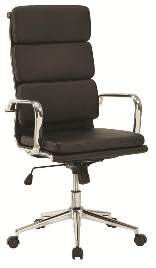 coaster office chairs modern office chair w high back