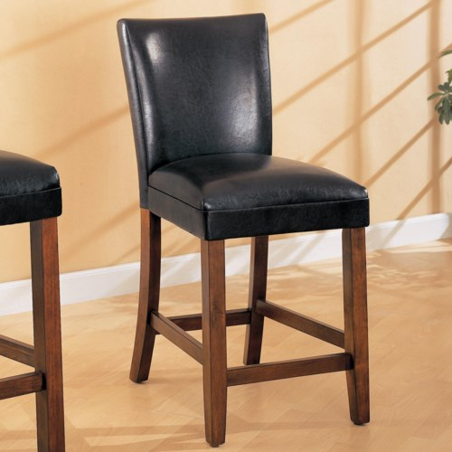 Coaster telegraph 24 faux leather bar stool coaster fine furniture Home bar furniture amazon