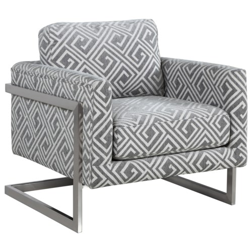 Donny Osmond Home Accent Seating Modern Accent Chair With