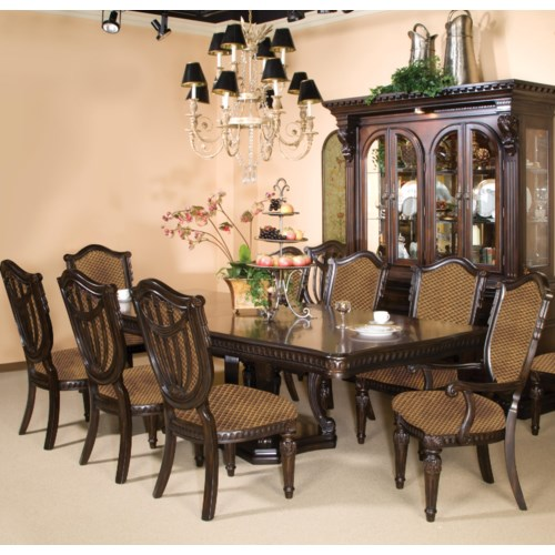 Fairmont designs grand estates piece dining set royal