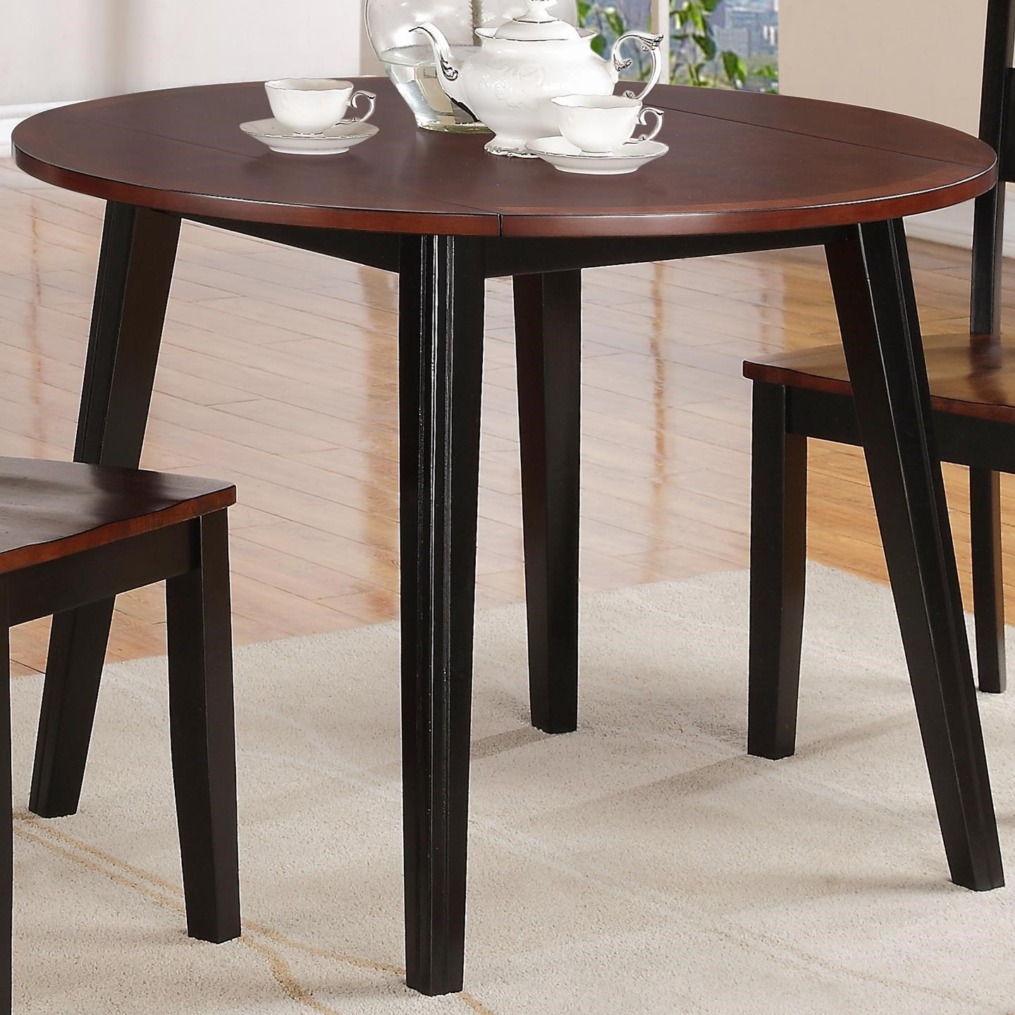 Holland House 8202 Round Drop Leaf Table