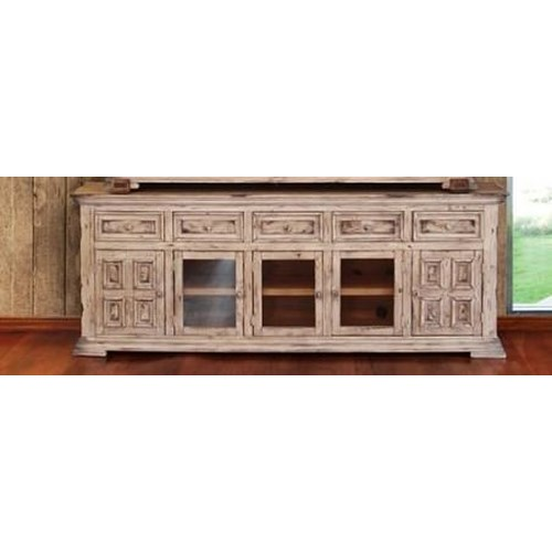 International furniture direct terra 83 linen tv stand for American furniture warehouse tv stands