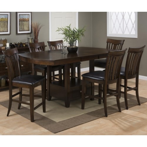 table and stool set jofran mirandela birch counter height dining table