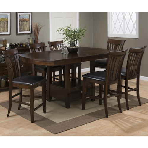 and stool set jofran mirandela birch counter height dining table set