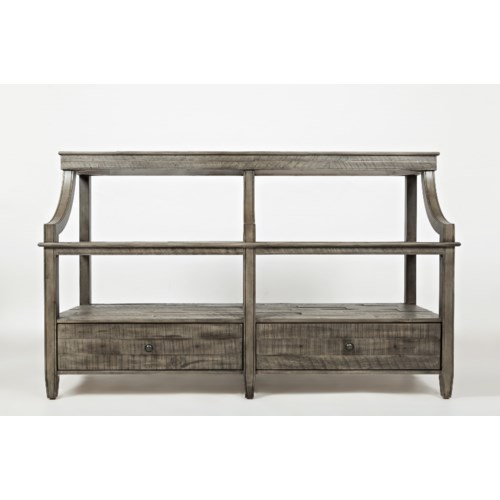 Jofran tremblant sofa table jofran for Jofran sofa table