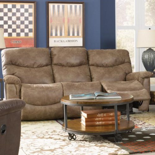 La z boy james casual la z time full reclining sofa reids countrywide furniture reclining Home furniture port arthur hours