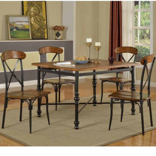 Lifestyle dc pub table set royal furniture