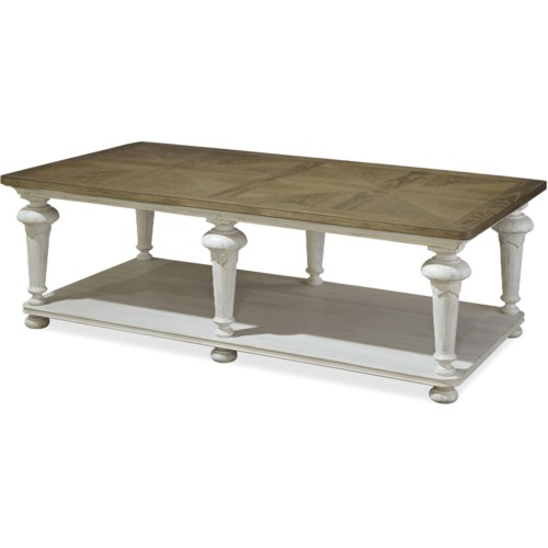 Cocktail Or Coffee Table Paula Deen By Universal Dogwood Cocktail