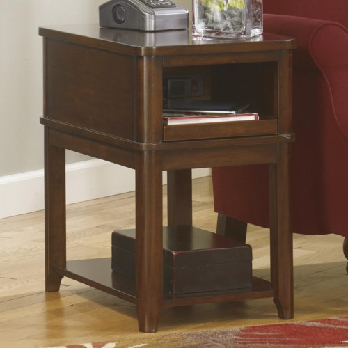 Signature design by ashley jaysteen chair side end table for Narrow accent table