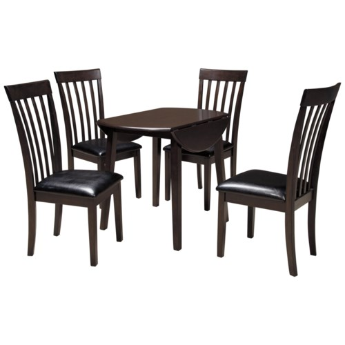 dining 5 piece set signature design by ashley hammis 5 piece round